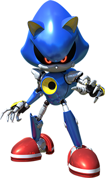 Team-Sonic-Racing Metal-Sonic profil