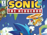 IDW Sonic the Hedgehog Issue 1
