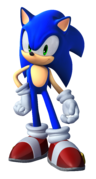 Sonic Unleashed - Sonic Teaser Render