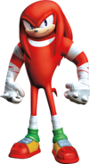 Knuckles in Sonic Boom