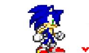 Sonic in sprite