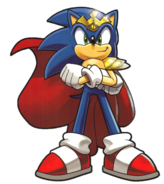 Sonic crowned King