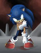 Sonic is hurt