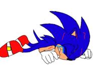 Sonic gets hurt