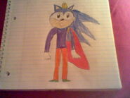 King Lawance the Hedgehog