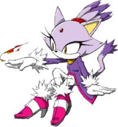 Blaze the Cat - Sonic Channel