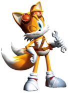 Tails' look in Sonic Boom