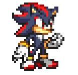 Shadow in sprite