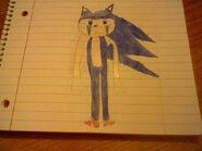 Sonic in tears