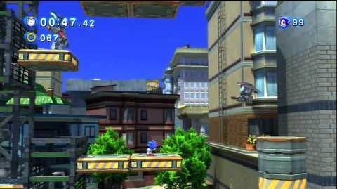 Sonic Generations City Escape Act 1