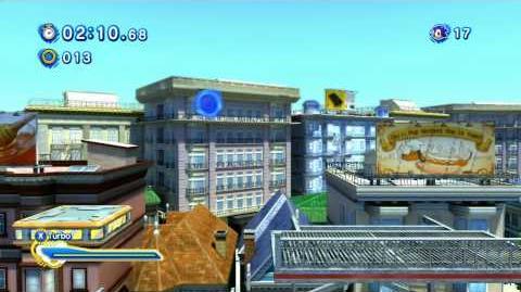 Sonic Generations City Escape Acte 2
