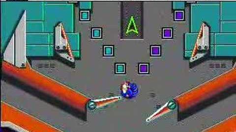 Sonic Spinball Boss 4 Robotnik Ship