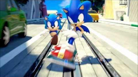 Sonic Generations OST - Classic City Escape Remix