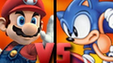 DEATH BATTLE! - Mario VS Sonic