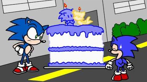 Two Sonics, One Cake