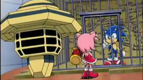 Sonamy moments on Sonic X - Season 2