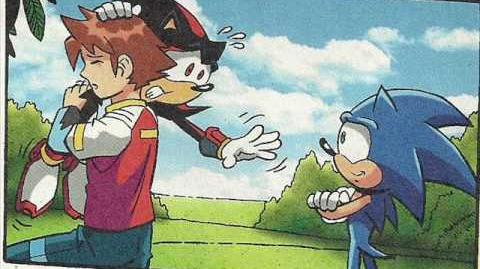 Sonic X Comic Issue 40
