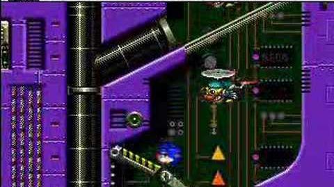 Sonic Spinball Boss 3 Veg O Machine
