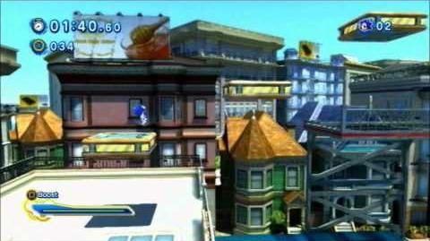 Sonic Generations (PS3) City Escape - Modern - S-Rank