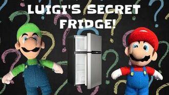 SonicWhacker55 - Super Mario Bros. - SML Movie Luigi's Secret Fridge!