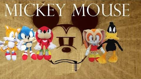 Sonic the Hedgehog - Sonic and Friends Meet Mickey Mouse