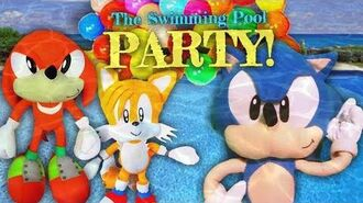 Sonic the Hedgehog - The Swimming Pool Party!