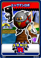 Sonic R 01 Egg Robo