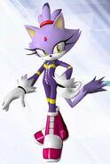 Blaze the Cat(Sonic Riders Zero Gravity)