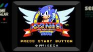 Sonic 1 (Game Gear & Master System) Music- Green Hill Zone