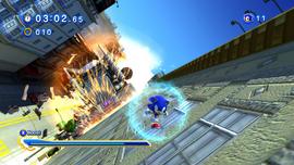 Sonic Generations City Escape GUN Truck