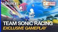 Team Sonic Racing Gameplay