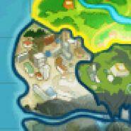 Central City auf der Weltkarte