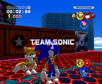 Team Sonic Intro Screen PP