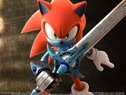 Wallpaper sonic and the black knight 03