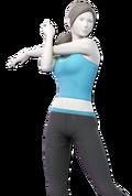 SSBU Wii fit-trainerin main