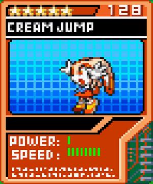 Cream Jump
