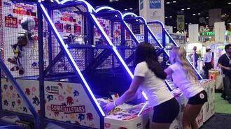 Sonic Basketball at IAAPA 2017 Sega Amusements