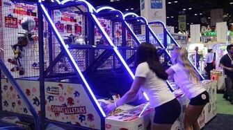 Sonic Basketball at IAAPA 2017 Sega Amusements