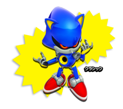 Metal Sonic Classic Sonic Generations