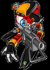 Sonic Adventure E-102 Gamma