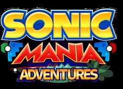 Sonic Mania Adventures - Logo
