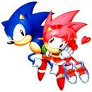 Amy wird von Sonic gerettet