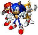 Sonic heroes sonic