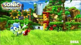 "Sonic Generations ""Classic Rooftop Run"" Music"