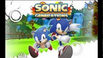 "Sonic Generations ""Classic City Escape"" Music"