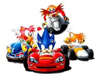 589px-Sonic, Tails, Amy and Robotnik