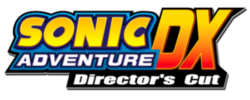 Sonic adventure dx logo