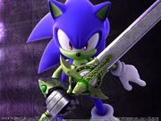 Wallpaper sonic and the black knight 06