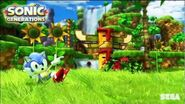 "Sonic Generations ""Modern Green Hill Zone"" Music"
