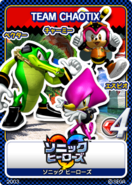Sonic Tweet Team Chaotix